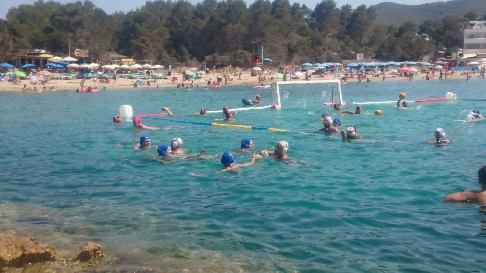 Waterpolo al BeachPolo. CNTàrraco