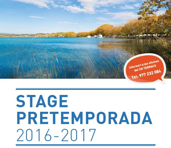 stage 2016/2017. CNTàrraco